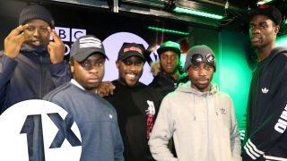 Kenny Allstar w/ Ounto Nation on BBC Radio 1Xtra @KennyAllStar @abznoproblem17
