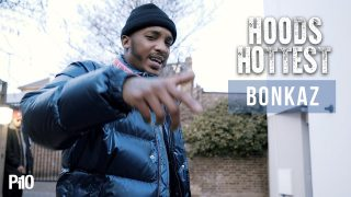 Bonkaz – #HoodsHottest #Freestyle [Music Video]