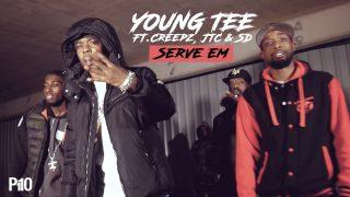 Young Tee Ft Creepz, JTC & SD – Serve Em [Music Net Video] @Youngteeb21 @Ess_d_18 @creepz_brum21