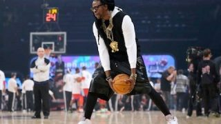 Watch 2 Chain's Vs Dominique Wilkins Battle In 3-Point Shootout @2chainz