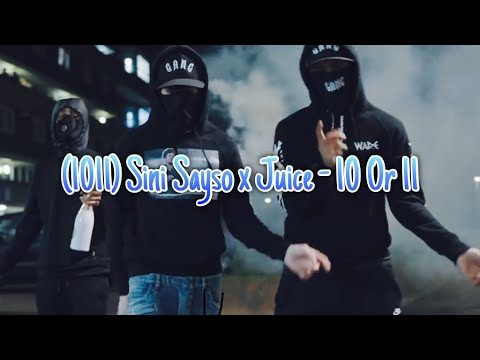 (#1011) Sini Sayso x Juice – 10 Or 11 [Music video] #Preview #Exclusive @Sinisayso